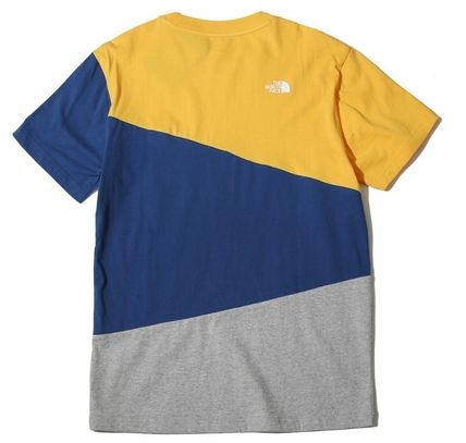 THE NORTH FACE More T-Shirts Unisex Street Style U-Neck Cotton T-Shirts 5