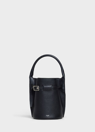 CELINE Big Bag Big Bag Nano Bucket In Supple Grained Calfskin