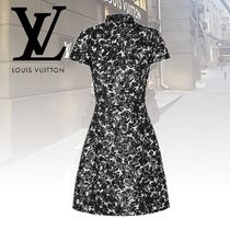Louis Vuitton Short Sleeves Dresses