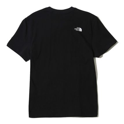 THE NORTH FACE More T-Shirts Unisex Street Style U-Neck Cotton T-Shirts 7