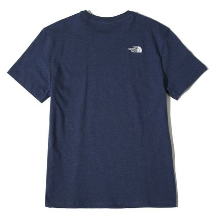 THE NORTH FACE More T-Shirts Unisex Street Style U-Neck Cotton T-Shirts 15