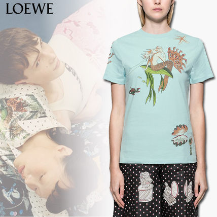 Street Style Collaboration Short Sleeves T-Shirts