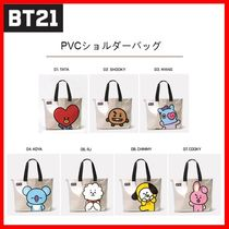 LINE FRIENDS Street Style Other Animal Patterns Shoulder Bags