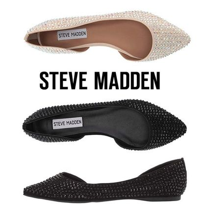 Casual Style Plain Slip-On Shoes
