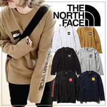 THE NORTH FACE Unisex Plain T-Shirts