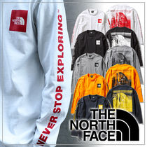 THE NORTH FACE Unisex Plain Outdoor T-Shirts