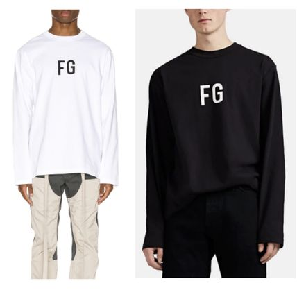 FEAR OF GOD More T-Shirts Street Style Cotton Logo T-Shirts