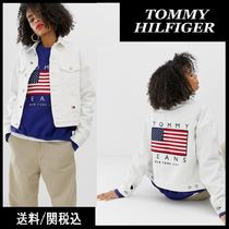 Tommy Hilfiger Casual Style Denim Plain Jackets