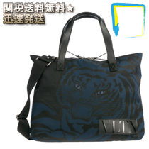 VALENTINO Nylon 2WAY Other Animal Patterns Bags