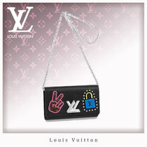 Louis Vuitton TWIST Blended Fabrics Chain Other Animal Patterns Leather
