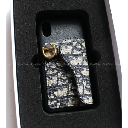 Christian Dior Leather iPhone X iPhone XS Smart Phone Cases