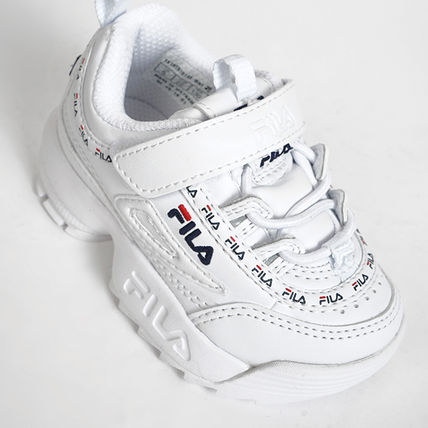 on feet shots of attractive price best prices Shop FILA Disruptor 2 2019 SS Unisex Collaboration Baby Girl Shoes ...