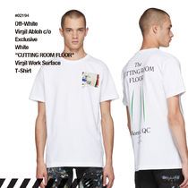 Off-White Unisex Street Style Collaboration Cotton T-Shirts
