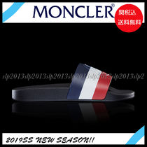 MONCLER Unisex Blended Fabrics Shower Shoes Shower Sandals
