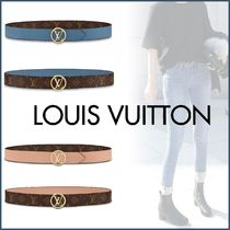 Louis Vuitton MONOGRAM Monogram Unisex Blended Fabrics Bi-color Leather