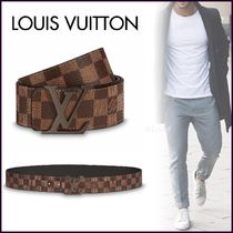 Louis Vuitton DAMIER Other Check Patterns Unisex Blended Fabrics Bi-color Belts