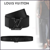 Louis Vuitton MONOGRAM Unisex Blended Fabrics Bi-color Plain Leather Belts