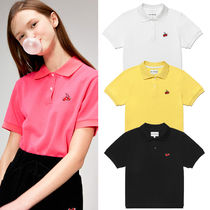 KIRSH Street Style Cotton Short Sleeves Polo Shirts
