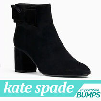 kate spade new york Street Style Collaboration Plain Boots Boots