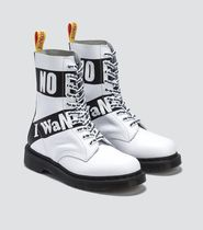 Dr Martens Round Toe Casual Style Unisex Street Style Collaboration