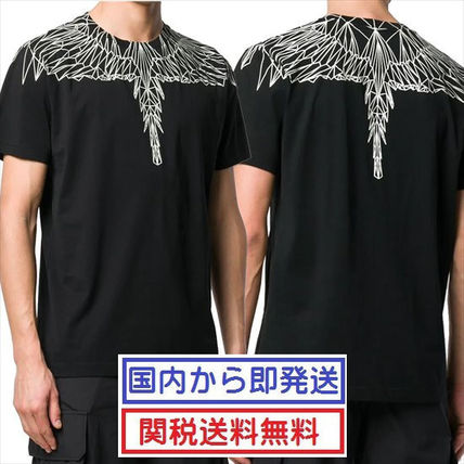 Marcelo Burlon Shirts Street Style Short Sleeves Shirts