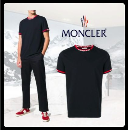 MONCLER More T-Shirts Stripes Street Style T-Shirts