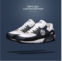 paperplanes Unisex Street Style Logo Low-Top Sneakers