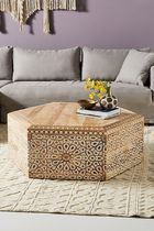 Anthropologie Table & Chair
