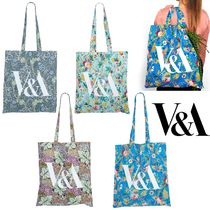 Victoria&Albert Flower Patterns Camouflage Casual Style Blended Fabrics