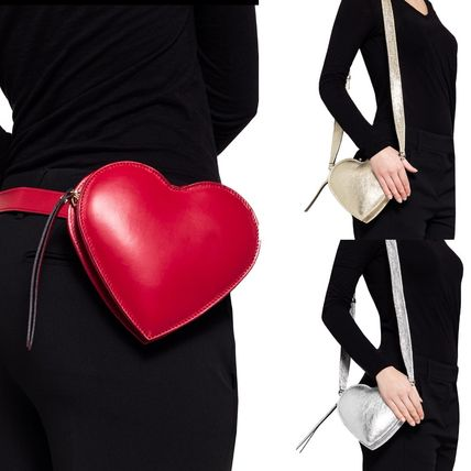 3WAY Leather Party Style Shoulder Bags