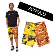 ROTHCO Camouflage Street Style Cotton Cargo Shorts