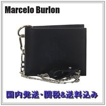 Marcelo Burlon Chain Folding Wallets