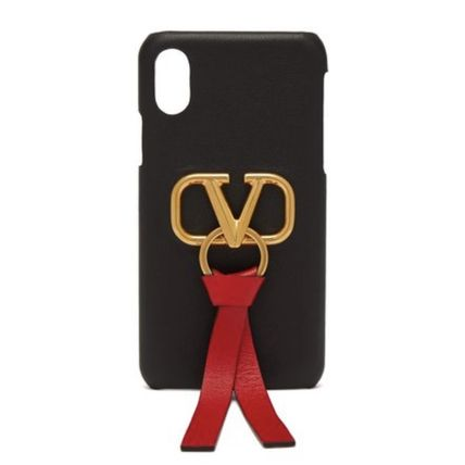 VALENTINO Smart Phone Cases Leather Smart Phone Cases 2