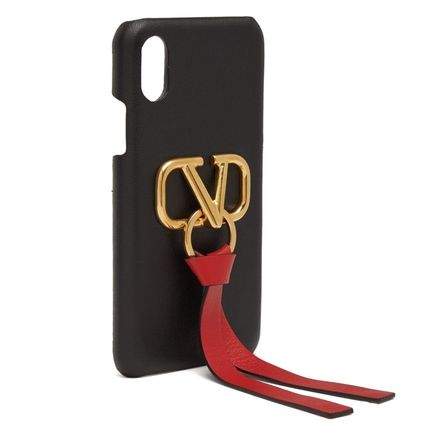 VALENTINO Smart Phone Cases Leather Smart Phone Cases 7