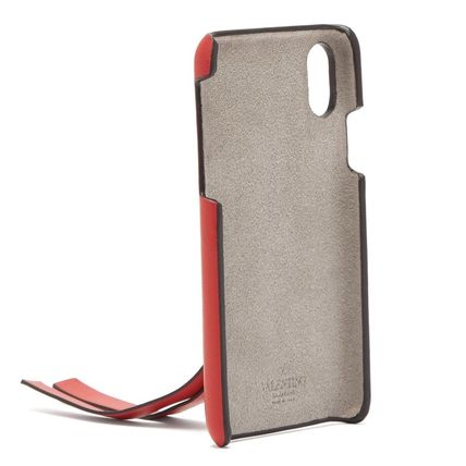 VALENTINO Smart Phone Cases Leather Smart Phone Cases 15