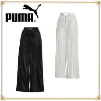 PUMA Casual Style Nylon Collaboration Plain Pants