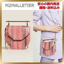 M2MALLETIER Faux Fur 2WAY Chain Other Animal Patterns Elegant Style