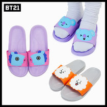 BT21 Street Style Collaboration Slip-On Shoes