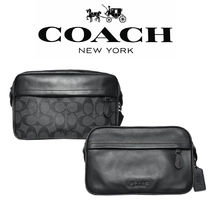 Coach 2WAY Leather Messenger & Shoulder Bags