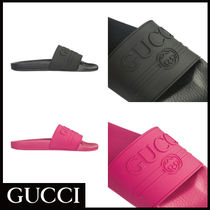 GUCCI Unisex Plain Sandals