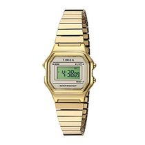 TIMEX Square Stainless Digital Watches