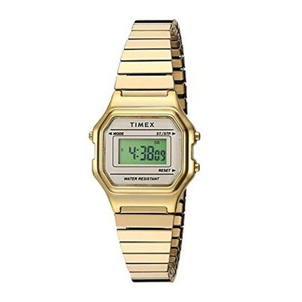 Casual Style Square Stainless Digital Watches