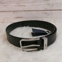 Louis Vuitton TAIGA Unisex Blended Fabrics Bi-color Plain Leather Long Belt