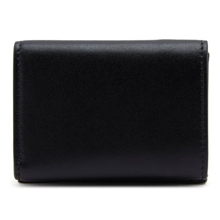 FENDI Folding Wallets Plain Leather Folding Wallets 3