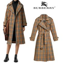 Burberry Plain Long Coats