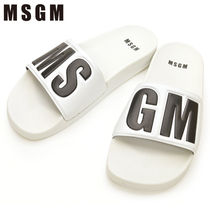 MSGM Shower Shoes Shower Sandals