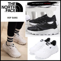 THE NORTH FACE WHITE LABEL Unisex Faux Fur Street Style Plain Sneakers