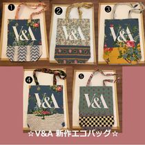 Victoria&Albert Flower Patterns Casual Style A4 Totes