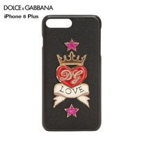 Dolce & Gabbana Heart Star Leather Smart Phone Cases