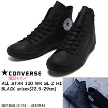CONVERSE ALL STAR Unisex Faux Fur Street Style Plain Sneakers